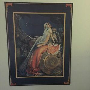 🐆Fine Art Quality Paper Cleopatra Print 📿